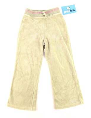 Next Girls Green Warm Pink Casual Autumn Winter Velour Sweatpants Age 3-4