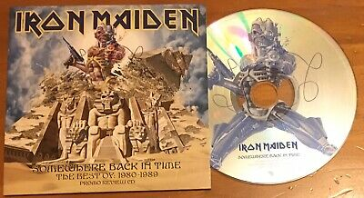 Iron Maiden - Somewhere Back in Time - The Best of 1980-1989 - Promo review CD