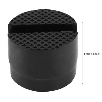 Jack Pad Rubber Car Frame Rail Protector Jack Support Pad Adapter Black