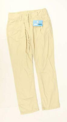 Next Girls Brown Trousers Age 12