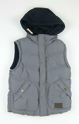 Rebel Boys Grey Coat Age 9-10