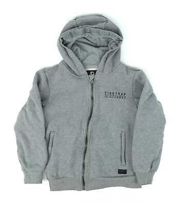 Firetrap Boys Grey Warm Fleece Hoodie Age 9-10
