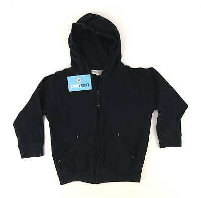 Rebel Boys Blue Hooded Jacket Age 4-5