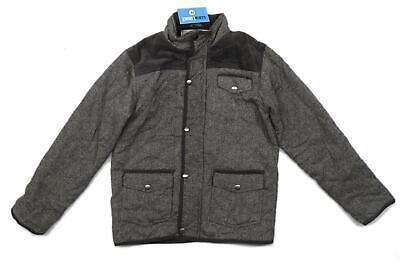 Rebel Boys Grey Coat Age 11-12