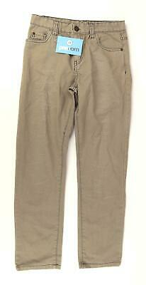 Denim Co Boys Beige Slim Fit Jeans Age 10-11