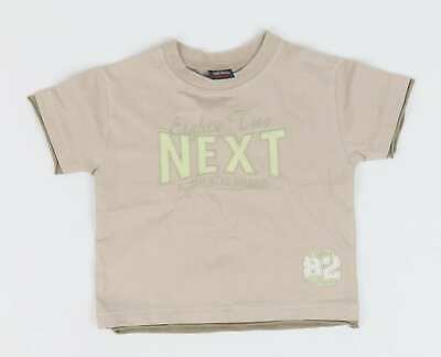 Next Baby Boys Brown Graphic T-Shirt Age 6-9m