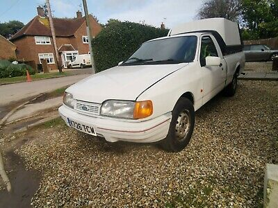Ford Sierra p100 pick up running project