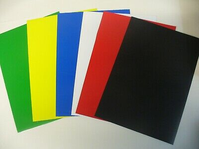 Magnetic A4 Coloured Craft & Storage Stencil Sheets,  ! Cheapest on The Net !