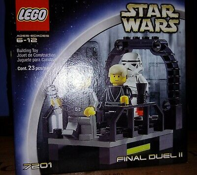 Lego Star Wars Episode IV Final Duel II (7201) New in box, never opened