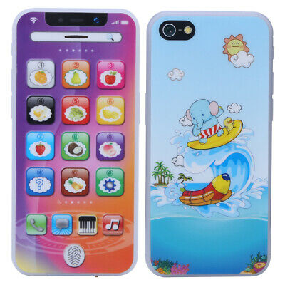 Child Simulator Music Toy Cell Phone Touch Screen Educational Learning Baby Gift