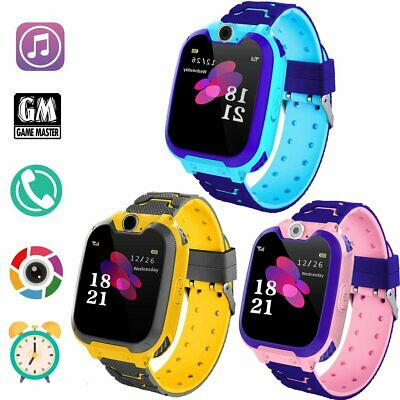 Anti-lost Smart Watch Safe SOS Call GSM SIM Camera Gifts Tracker For Child Kids