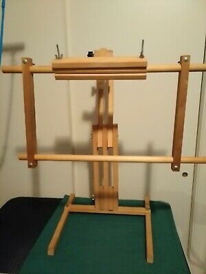 Universal Cross Stitch Needlepoint  or Quilt Stand for Hoops & Scroll Frames