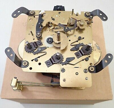 Vintage West German 340-020 71 Westminster Chime Mantel Wall Clock Movement Part