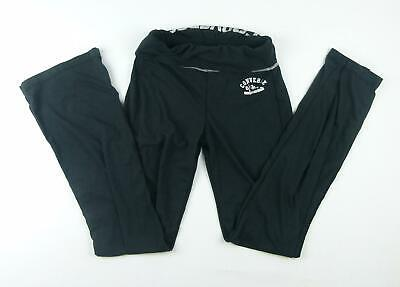 Converse Girls Black Tracksuit Bottoms Age 14