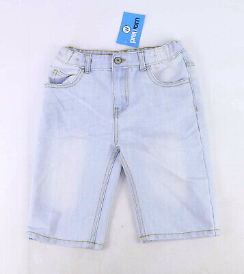 Denim Co Boys Blue Denim Casual Summer Spring Faded Shorts Age 10-11