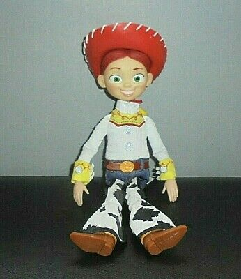 Disney Pixar Toy Story Talking Jessie Complete With Hat By Thinkway Toys