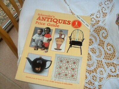 Schroeders antiques price guide eighth edition 1990