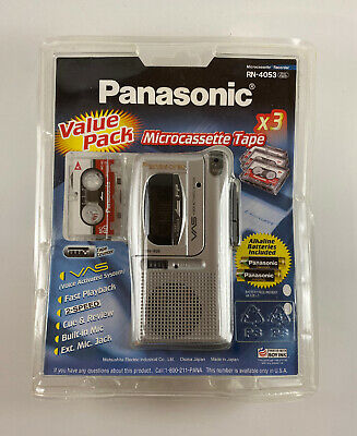 New Panasonic RN-4053 Microcassette Tape Recorder VAS Sealed