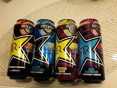 Rockstar Energy Drink Rock am Ring Code 2020, 4 full cans