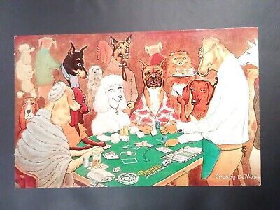Dunes Casino Las Vegas, Nevada Dogs Logo Postcard Great For Vintage Collection!