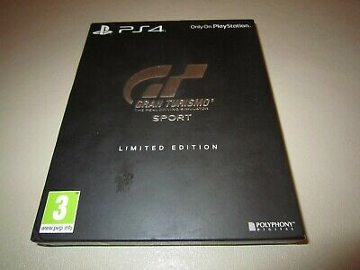Gran Turismo Sport (Limited Edition) for the Sony PS4