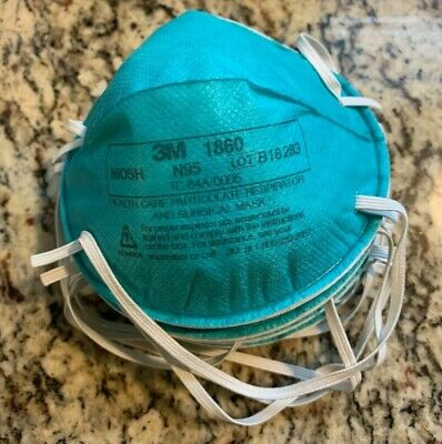 3M N95 Health Care Particulate Respirator Mask - Size Standard - Blue-1 pc only