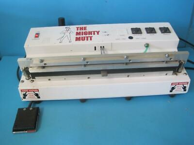 "Seco Gramatech Vacuum Bag Sealer Mighty Mutt Mpv-18 18"" Ncb 120V 10A With Pedal"