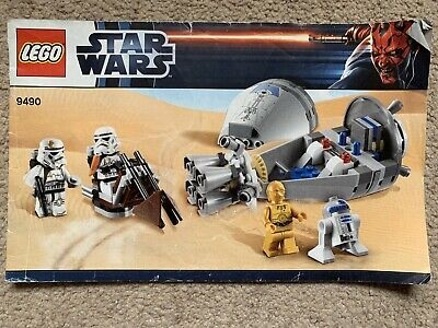 Lego Star Wars Droid Escape Instruction Manual 9490