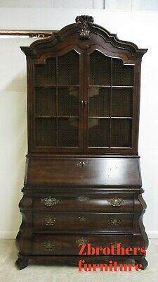 Henredon Secretary Desk Four Centuries French Country Bombay Drop Front