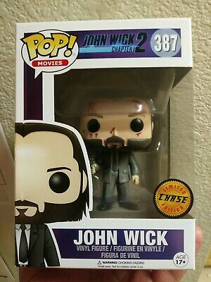 Funko Pop ~ John Wick Chapter 2 ~ Bloody Limted Chase #387