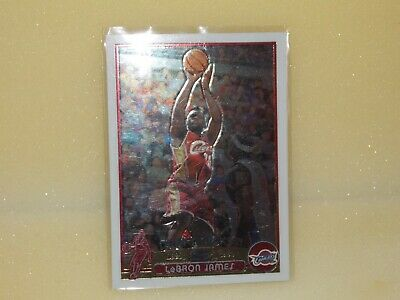 2003-04 Topps Chrome #111 LeBron James  RC Rookie CARD