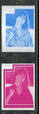 1977 Topps Charlies Angels Color Separation Proof Cards. #198