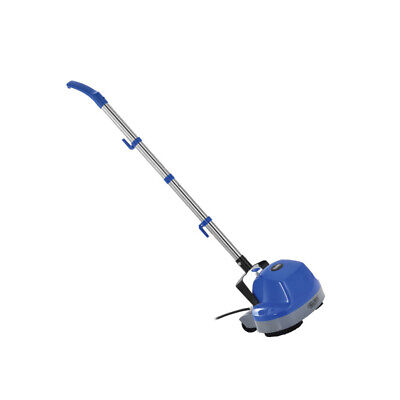 Global Industrial Mini Floor Scrubber W/ Floor Pads, 11' Cleaning Path