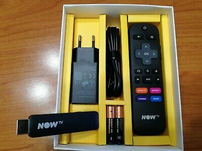 AFFARE! Smart Stick SKY NOW TV - MODELLO 2019 - NETFLIX DAZN YOUTUBE - NO TICKET
