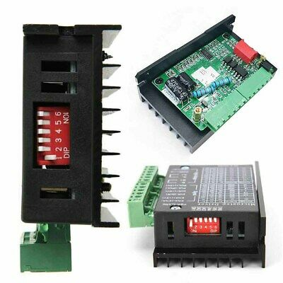 TB6600 Single Axis 4A Stepper Motor Driver Controller 9~40V Micro-Step CNC UK