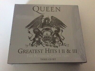 Queen Greatest Hits The Platinum Collection 3 Cd Set New And Sealed H1