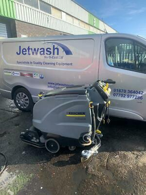 Karcher B 40 R Floor Scrubber Dryer. Fully Refurbished with new batteries.
