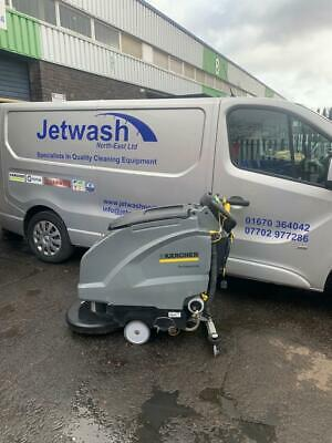 Karcher B 60 Scrubber Dryer. With Disc Brush. Fully Refurbished. Floor Cleaner.