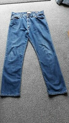 Mens M&S Collection Blue Jeans 36 w x 31 straight leg excellent condition.
