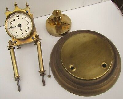 Vintage Anniversary Dome Clock Parts - Germany