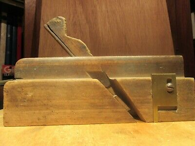ANTIQUE UNMARKED Woodworking Moulding Plane Wood Tool Quirked Ogee Molding