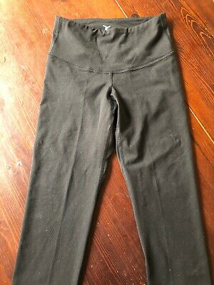 Old Navy Active Fitted black Capri pants athletic fitness Size XS