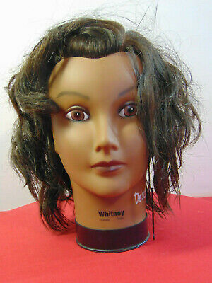 Mannequin Head With Head-Lox System By Burmax  Whitney