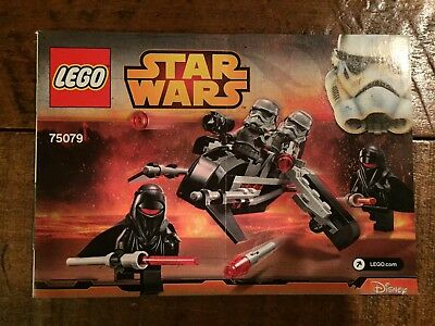 Lego 75079 Star Wars Disney Shadow Troopers Instruction Manual / Booklet