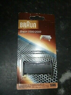 Original Braun 596Shaver Foil Replacement Head, 1000 / 2000, New