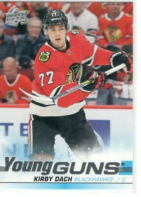 2019-20 Ud Upper Deck Serie 2 Ud Young Guns # 451 Kirby Dach Chicago