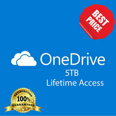 OneDrive 5TB ✅Lifetime Account - ✅Fast Delivery - ✅Custom Credentials