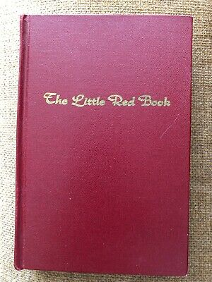 AA Alcoholics Anonymous The Little Red Book Orthodox View Of The 12 Steps 1970
