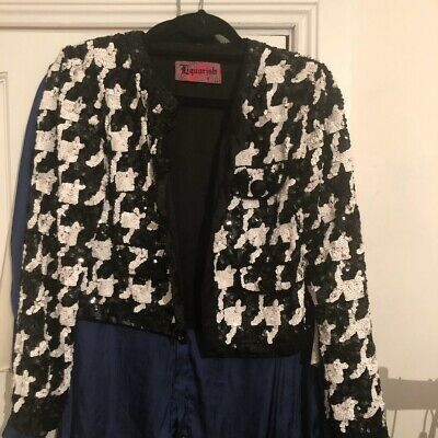 Vintage Beaded Sequin Party Jacket