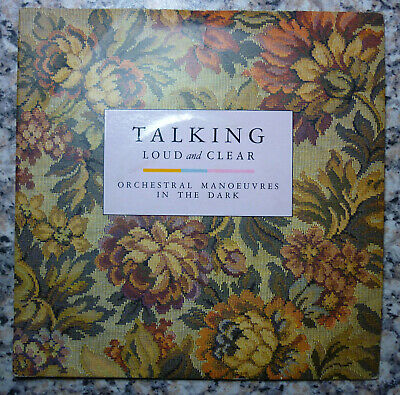 """Talking loud and clear 7"""" vinyl orchestral manoeuvres in the dark"""